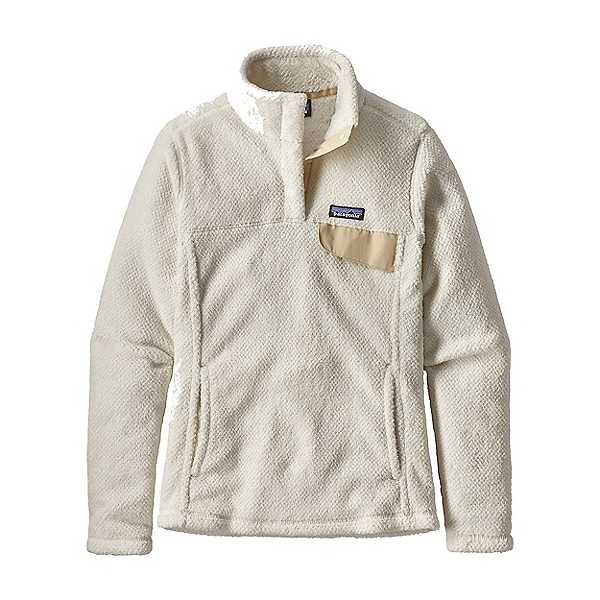 Patagonia Re-Tool Snap-T Fleece Womens Mid Layer, Raw Linen White, 600