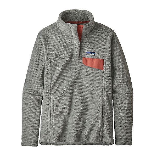 Patagonia Re-Tool Snap-T Fleece Womens Mid Layer, Tailored Grey-Nickel X Dye, 600