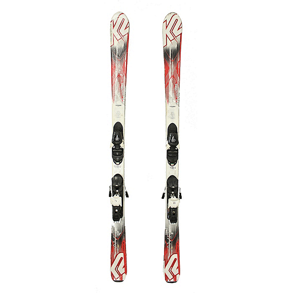 Used 2015 K2 AMP Strike Skis With Salomon L10 Bindings C Condition Starter Set, , 600