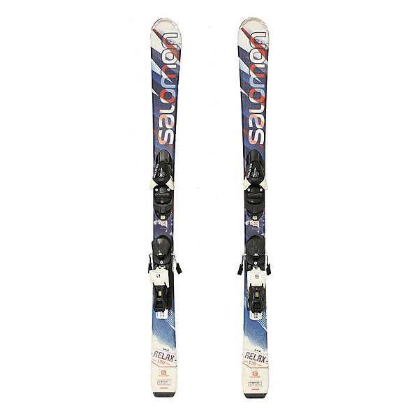 Used 2015 Salomon Relax Skis L10 Bindings A GREAT STARTER SET SALE, , 600
