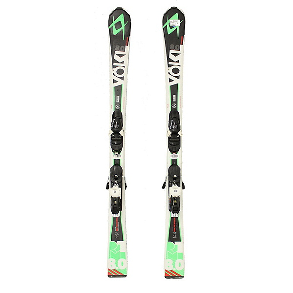 Used 2015 Volkl RTM 8.0 Skis With Salomon L10 Bindings A Condition Starter Set, , 600