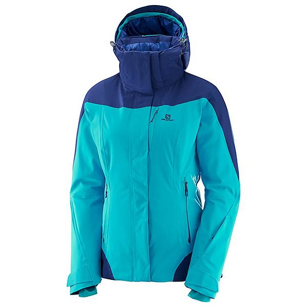 Salomon Icerocket Womens Insulated Ski Jacket, , 600