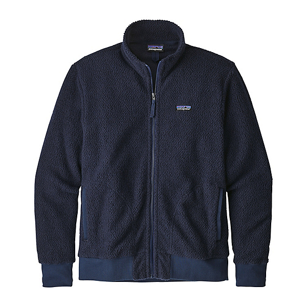 Patagonia Woolyester Fleece Mens Jacket, Classic Navy, 600