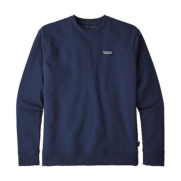 Patagonia P-6 Label Uprisal Crew Mens Sweatshirt, Classic Navy, 600