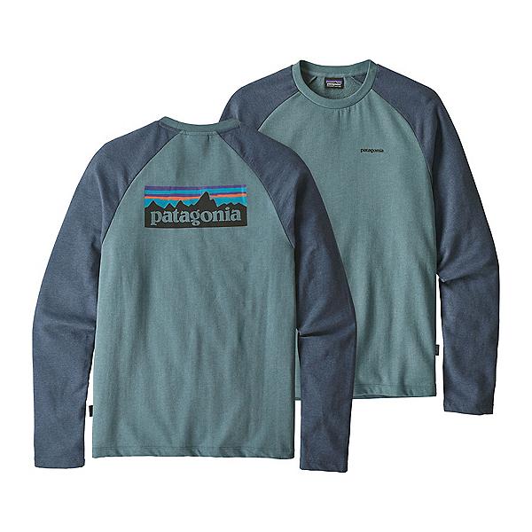 Patagonia P-6 Logo Lightweight Crew Mens Sweatshirt, Shadow Blue, 600