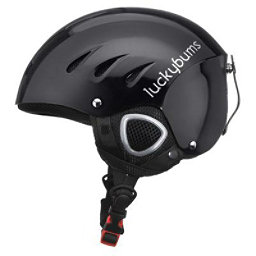 Lucky Bums Adult Ski Snowboard Helmet Size Small S, Black, 256