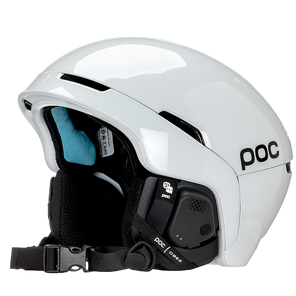 POC Obex Spin Communication Audio Helmets, Hydrogen White, 600
