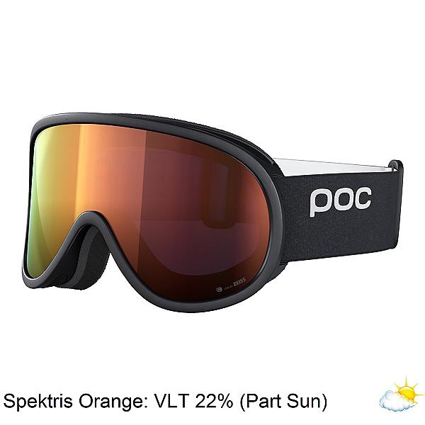 POC Retina Clarity Goggles 2022, Uranium Black-Spektris Orange, 600