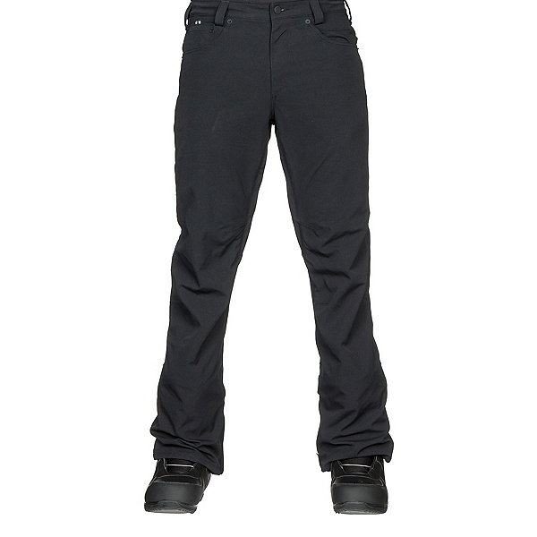 Burton Wolfeboro Mens Snowboard Pants, True Black, 600