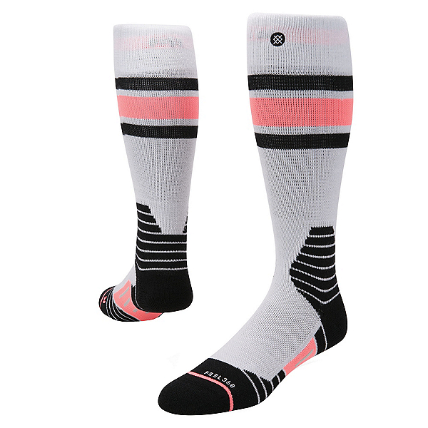 Stance Waterfall Womens Snowboard Socks, , 600