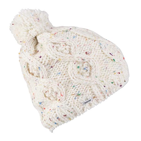 Burton Chloe Beanie Womens Hat, Stout White, 600