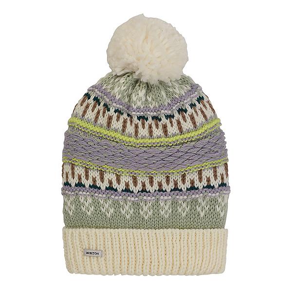 Burton Walden Beanie Womens Hat, Aqua Gray, 600