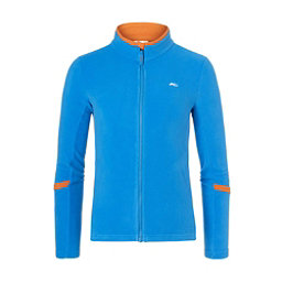 Colorswatch30 Kjus Charger Jacket Boys Kids Midlayer Aquamarine Blue