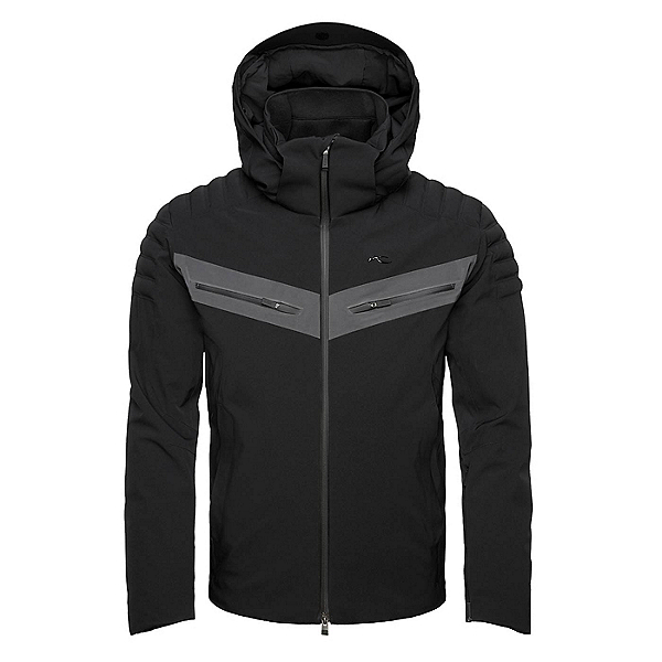 KJUS Cuche II Mens Insulated Ski Jacket 2018, Black, 600
