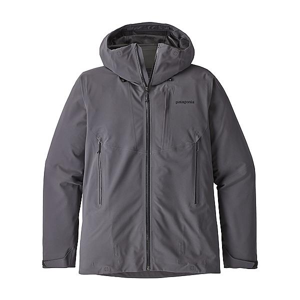 Patagonia Galvanized Mens Shell Ski Jacket 2019, Forge Grey, 600