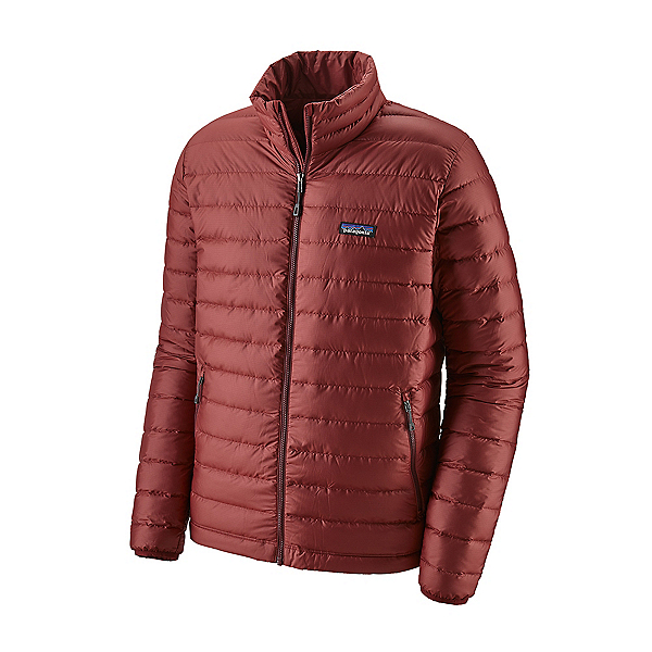 Patagonia Down Sweater Mens Jacket, Oxide Red, 600