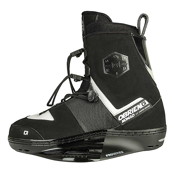 O'Brien Nomad Wakeboard Bindings 2017, Black-White, 600
