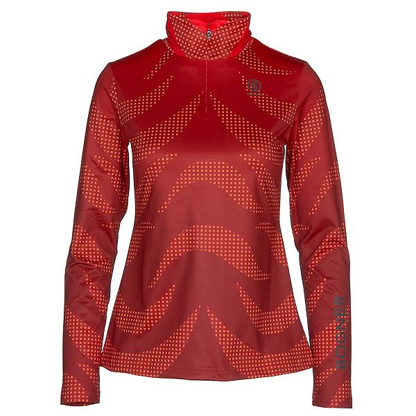 Bogner Beline 1 Womens Long Underwear Top 2019, Lava Red, 600