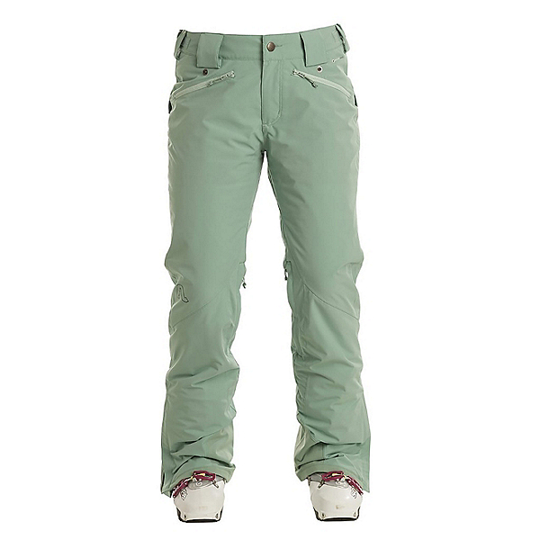 Flylow Daisy Insulated Womens Ski Pants, Vintage, 600