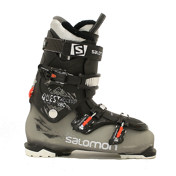 Used 2015 Mens Salomon Quest Access R80 Ski Boots Size Choices, , 600
