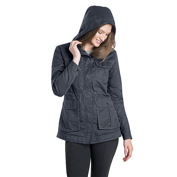 KUHL Fleece Lined Luna Womens Jacket 2020, Carbon, 600