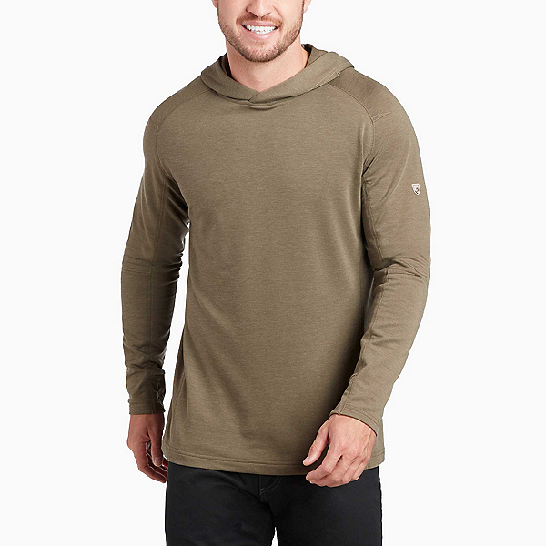 KUHL Influx Hoody Mens Mid Layer, Olive, 600