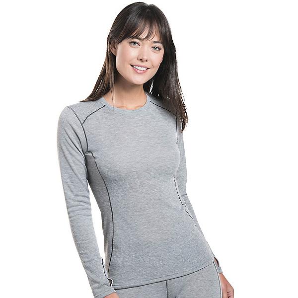KUHL Akkomplice Krew Womens Long Underwear Top, Ash, 600