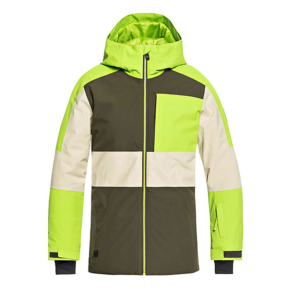 Quiksilver Sycamore Boys Snowboard Jacket, Grape Leaf, 600