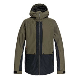 c736ac882 Quiksilver Travis Rice Ambition Mens Insulated Snowboard Jacket, Grape  Leaf, 256