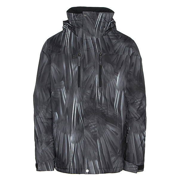 9b51396b9bc Quiksilver Mission Printed Mens Insulated Snowboard Jacket 2019