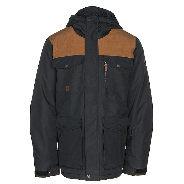 Quiksilver Raft Mens Insulated Snowboard Jacket, , 600
