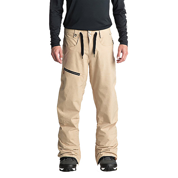 Quiksilver Forest Oak Mens Snowboard Pants, , 600