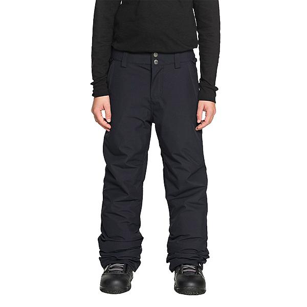 Quiksilver Estate Kids Snowboard Pants, Black, 600