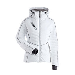 Shop for White NILS Women s Ski Jackets at Skis.com  83f6481d9