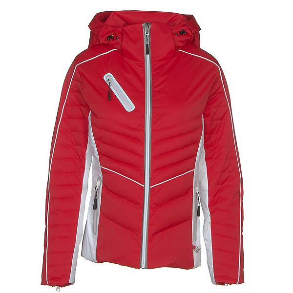 NILS Natti Womens Insulated Ski Jacket 2019, Red-White, 600
