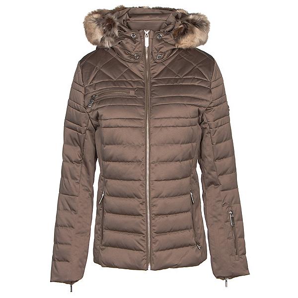 NILS Arya w/Faux Fur Womens Insulated Ski Jacket 2019, Bronze, 600