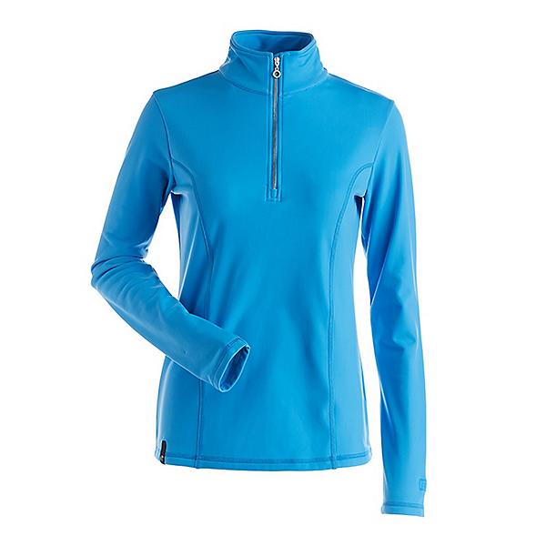 NILS Robin Womens Long Underwear Top, Arctic Blue, 600