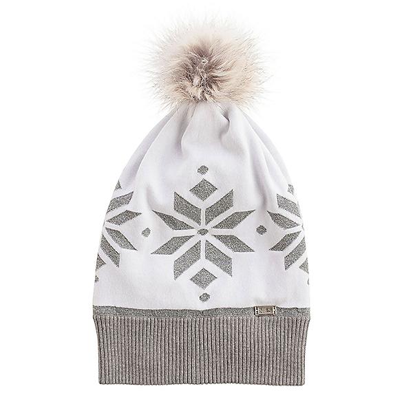 NILS Quinn Womens Hat, Steel Grey-White-Metallic, 600
