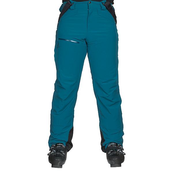 Salomon Chill Out Bib Mens Ski Pants, Moroccan Blue, 600