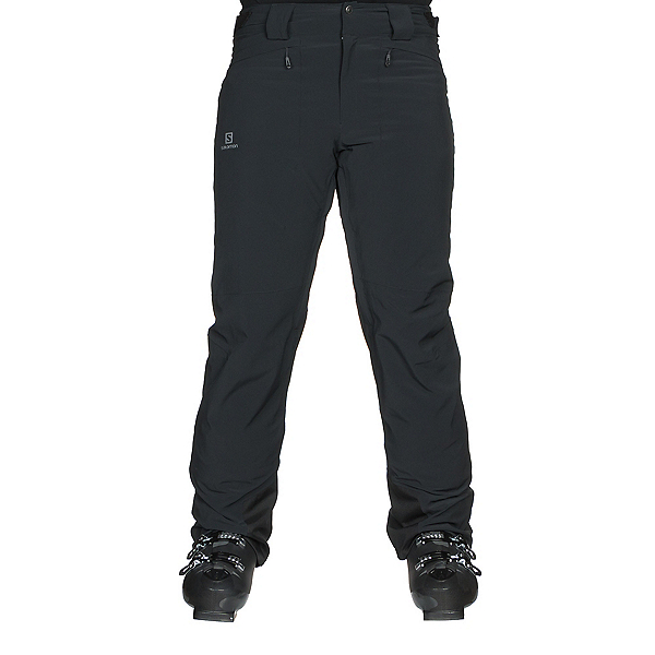 Salomon Icemania Mens Ski Pants, Black, 600