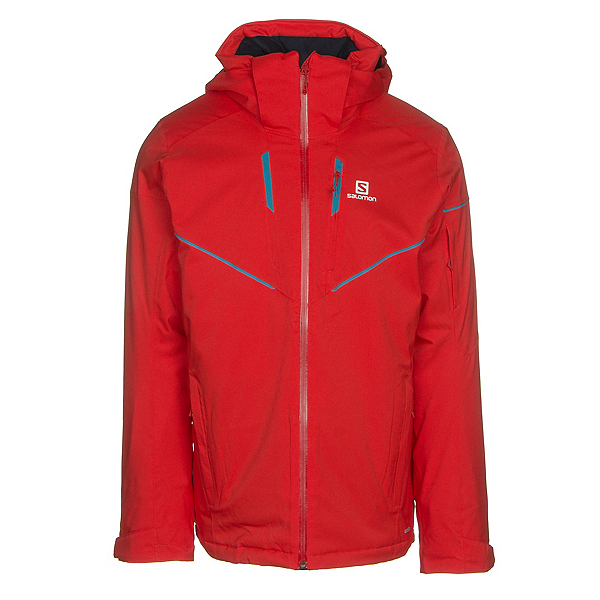 Salomon Stormrace Mens Insulated Ski Jacket, , 600