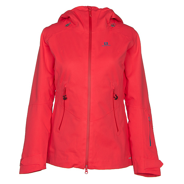 Salomon QST Guard Womens Insulated Ski Jacket 2019, Hibiscus, 600