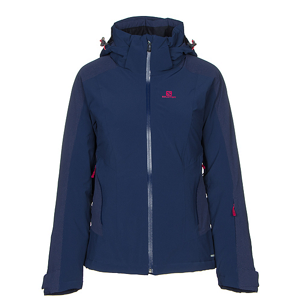 Salomon Brilliant Womens Insulated Ski Jacket 2019, , 600