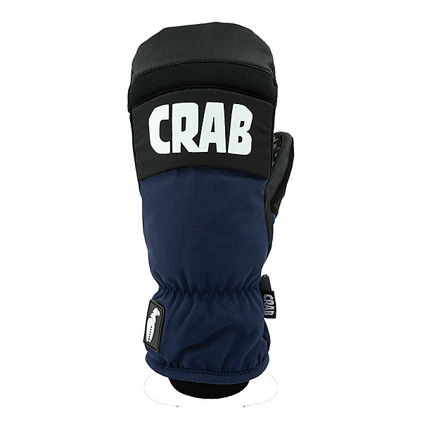 Crab Grab Punch Mittens, Black-Blue, 600