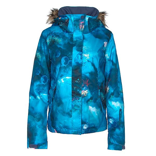 3874768c4d4 Roxy Jet Ski w Faux Fur Womens Insulated Snowboard Jacket 2019