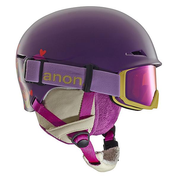Anon Define Kids Helmet, Cupcake Purple, 600