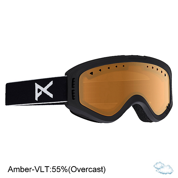 Anon Tracker Kids Goggles 2020, Black-Amber, 600