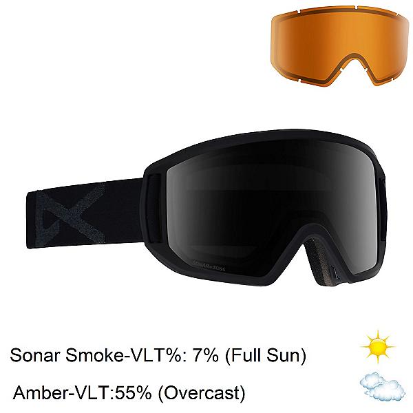 Anon Relapse Goggles 2020, Smoke-Sonar Smoke + Bonus Lens, 600