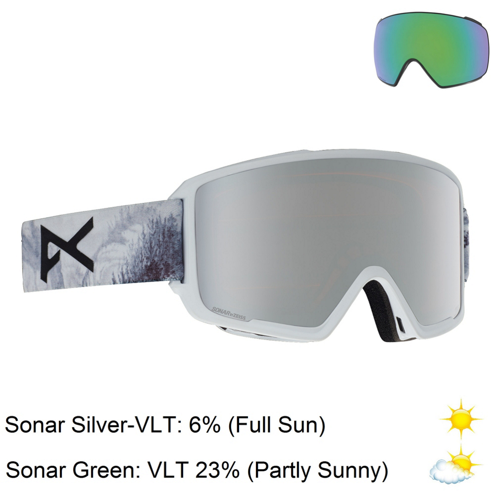 187b4d93dc6f Shop for Mens Anon Ski Goggles at Skis.com