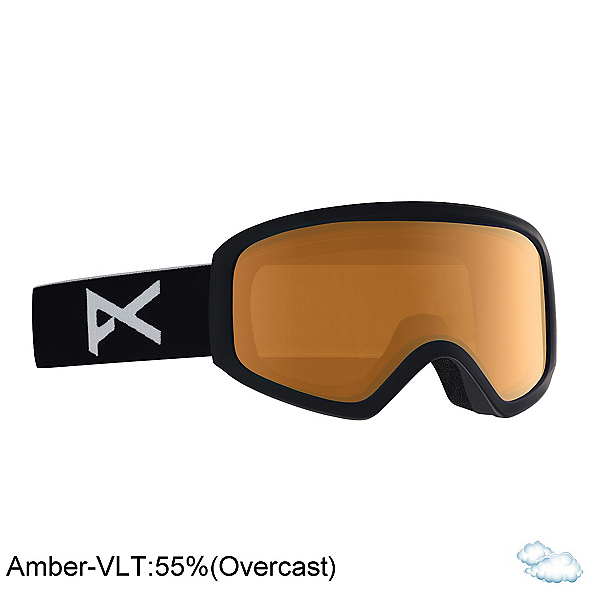 Anon Insight Womens Goggles 2020, Black-Amber, 600